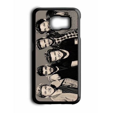 1D One Direction Black And White Samsung Galaxy S6