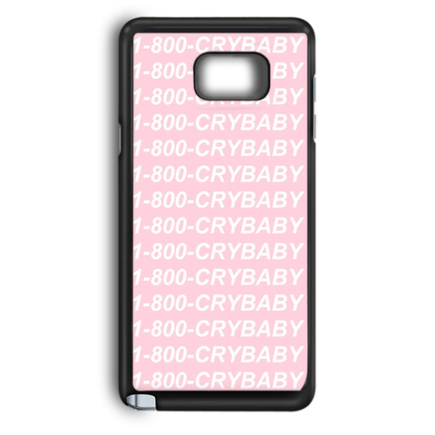 1-800 Crybaby Dylan O'Brien Samsung Galaxy Note 5 Case
