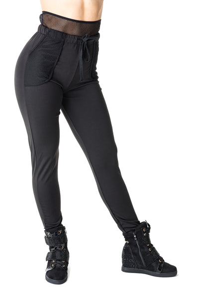 Sports Pant with Extended Mesh Waistband- Women's (580AW)