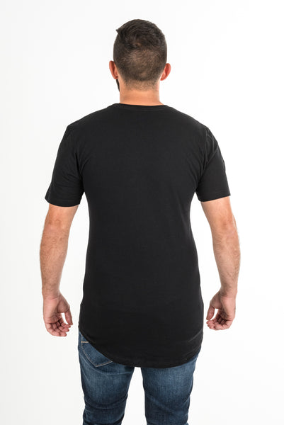 Extended Crew Neck Tee (AM150)