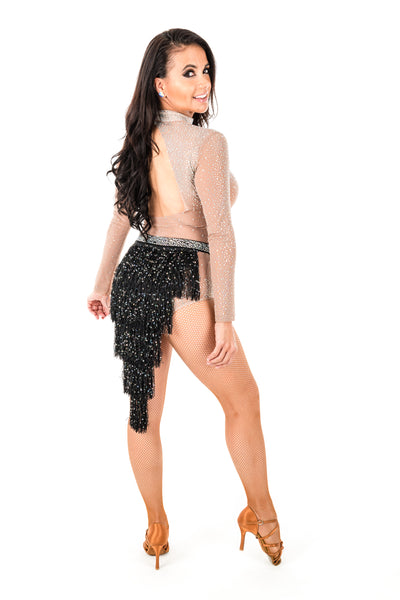Short Fringe Dance Skirt (CW120)