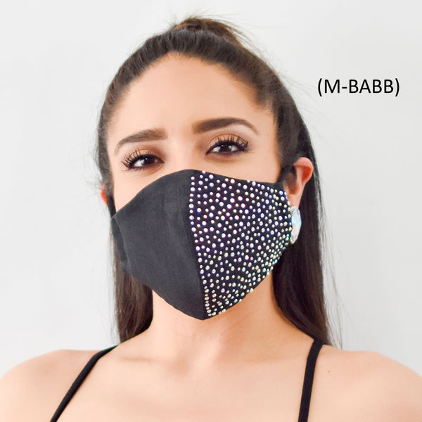 Fashion Bling Face Masks