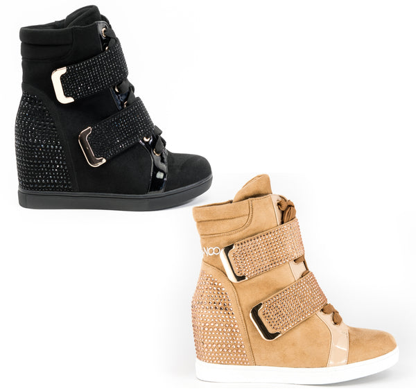 Women's Wedge Latin Dance Boots by