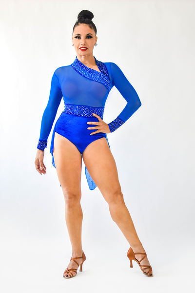 Ladies Blue Costume CW250