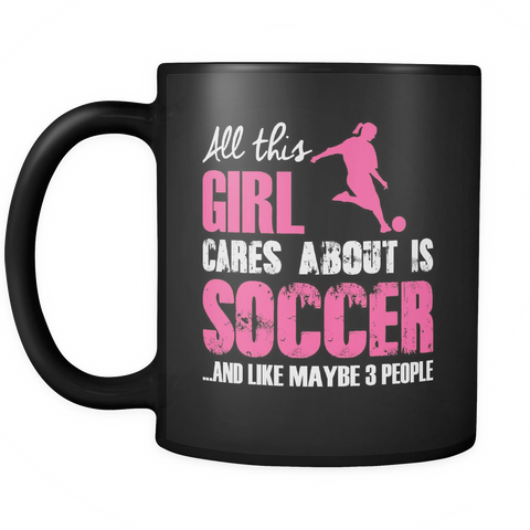 Soccer Is My Life Mug