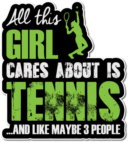 Tennis Is My Life Sticker