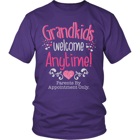 Grandkids Welcome Anytime T-Shirt