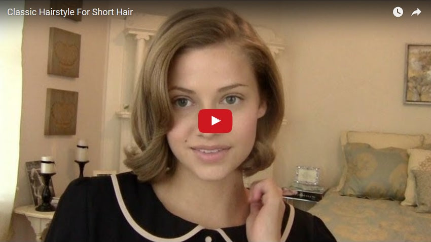 Hairstyle Tutorials Tutorial Videos Bold Dress - Classic hairstyle tutorials