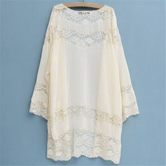 Boho Loose Lace Kimono (Multiple Colors)-BoldDress.com