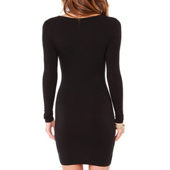 Emily Back In Black Dress-BoldDress.com