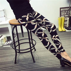 Cartoon Printed Leggings-BoldDress.com
