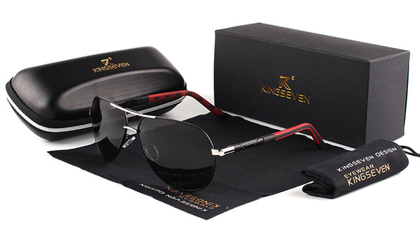 KINGSEVEN Vintage HD Polarized Sunglasses