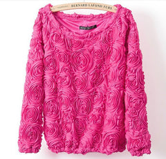 Gracey Rose Chiffon Pullover-BoldDress.com