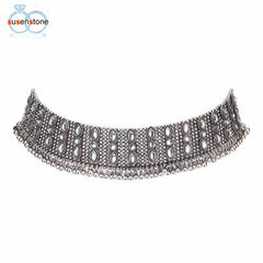 Chain Necklace Choker-BoldDress.com