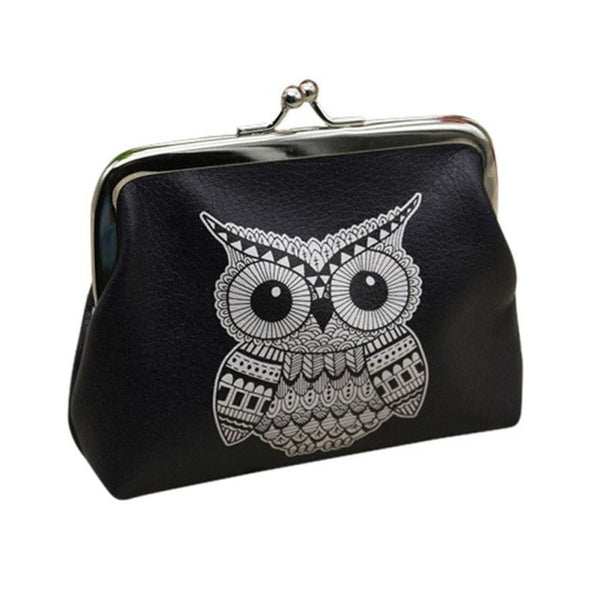 Knowing Owl Coin Purse