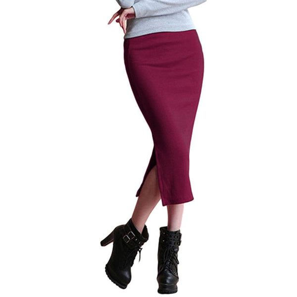Josephina Slit Pencil Skirt