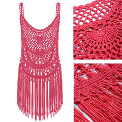 Tribal Crochet Cover-Up-BoldDress.com