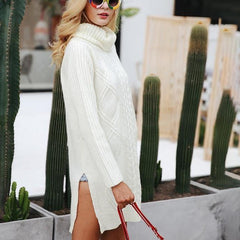 Annastasia Sweater Dress-BoldDress.com