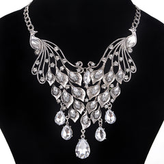 Fasion Crystal Necklace Statement-BoldDress.com