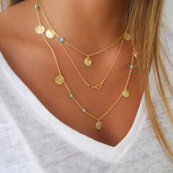 Za Za Multi Layer Necklace