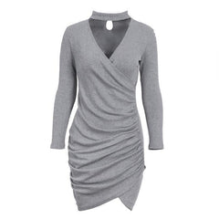 Eilianna Elegant Sweater Dress-BoldDress.com