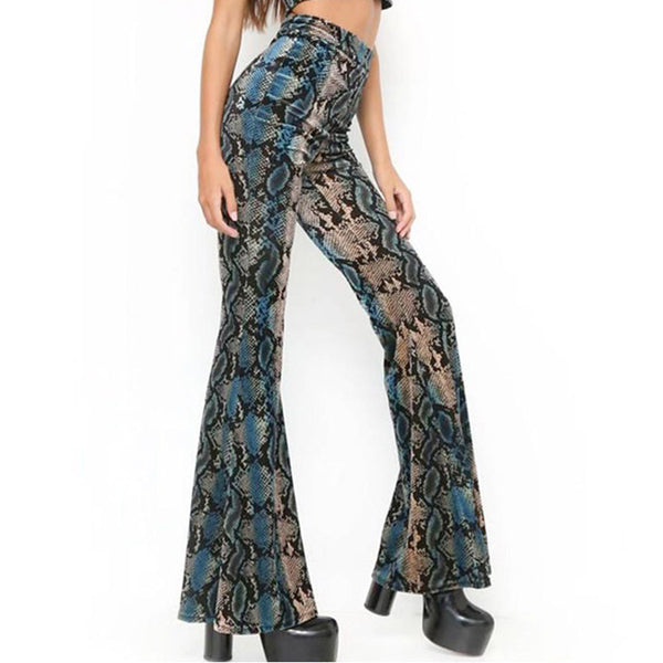 Chic Stretchy Flare Pants