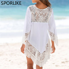 Bohemian Fringe Cover Up-BoldDress.com