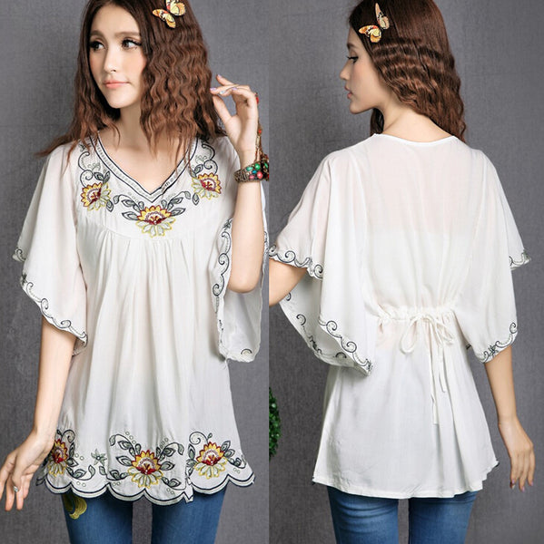 Hippie Embroidered Tunic