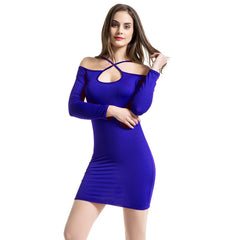 Hollow Out Bodycon Dress-BoldDress.com