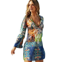 Sassy Chiffon Beach Cover Up-BoldDress.com
