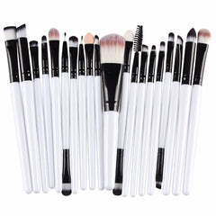 20pc Makeup Brush Set-BoldDress.com