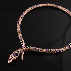 Rose Gold Charmer Choker-BoldDress.com