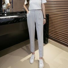 Pleated Chiffon Trousers-BoldDress.com