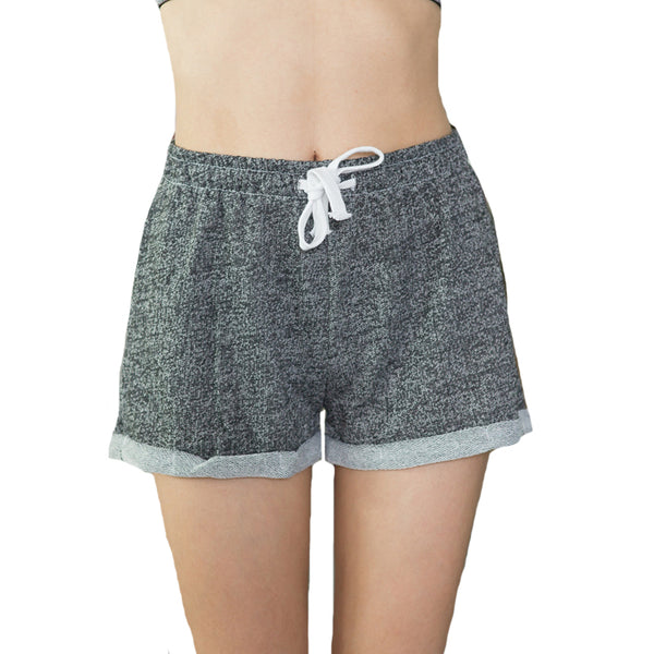 Casual Drawstring Fitness Shorts