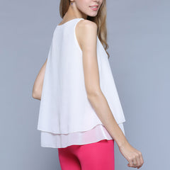 Flirty Double Ruffle Top-BoldDress.com