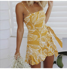 Classic Ruffle Mini Dress-BoldDress.com