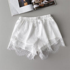 Hollow Out Lace Shorts-BoldDress.com