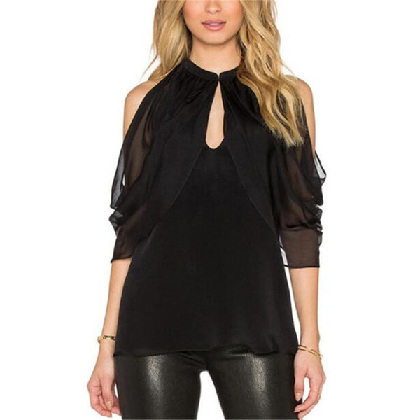 Key Hole Peekaboo Top