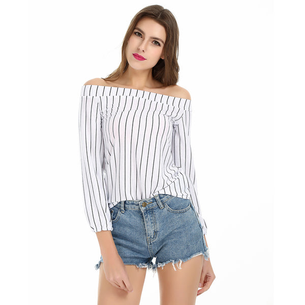 Sleekly Striped Top