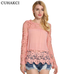 Enchanting Lace Top-BoldDress.com