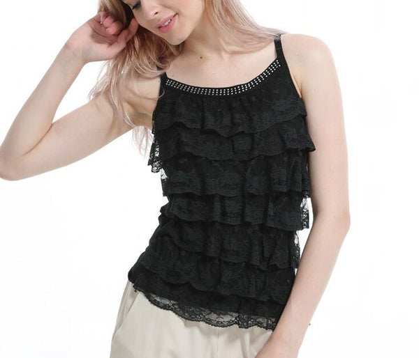 Color Me Ruffles Camis