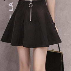 Aria Flirty Skater Skirt-BoldDress.com