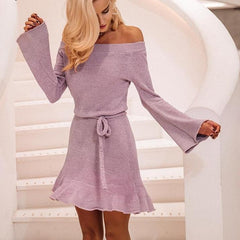 Lily Lilac Dress-BoldDress.com