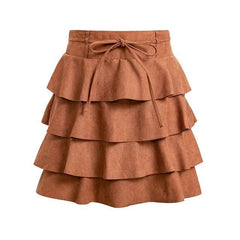 Rita Ruffled Skirt-BoldDress.com