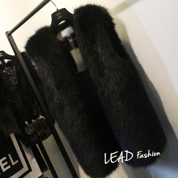 Brooke Faux Fur Vest