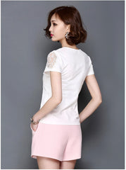 Lace Lover Elegant Blouse-BoldDress.com