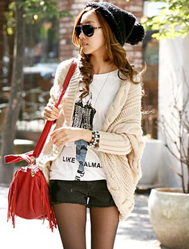 Casual Wool Cardigan (Multiple Colors)