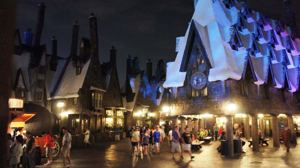 Go behind the scenes at the Wizarding World of Harry Potter
