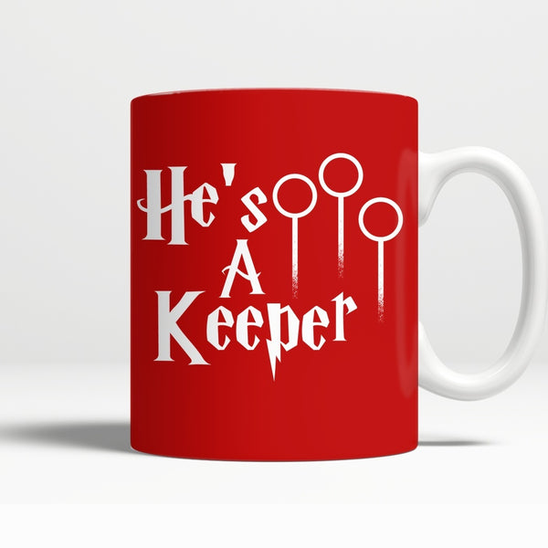 Drinkwear - Limited Edition - Harry Potter He`s A Keeper Mug