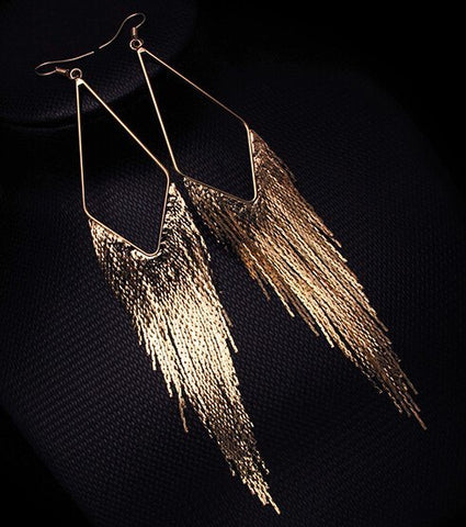 Earrings - Elegant Vintage Drop Dangle Earrings